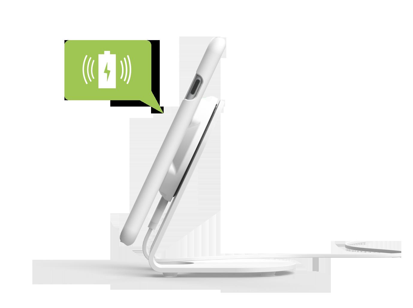 chargeur sans fil Qi magnétique